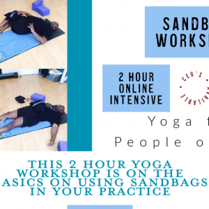 Work with Sandbags February 21, 11a-1p // Accessible Yoga Workshop