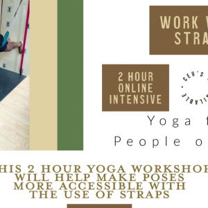 Work With Straps // June 13, 11a-1p ET // Accessible Yoga Workshops